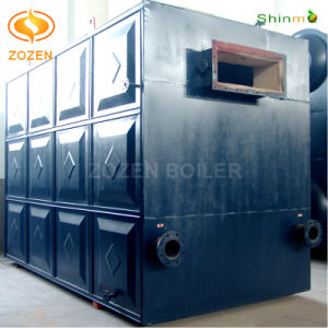 2.4MW Industrial Horizontal Assembled Coal-Fired Chain Thermic Oil Heater