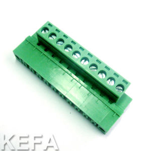 Pluggable Terminal Block with Side Mount for PCB Soldering pictures & photos