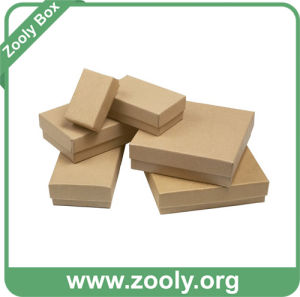 Small Plain Eco-Friendly Natural Brown Kraft Paper Cardboard Box pictures & photos