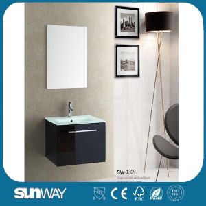New Glossy Complete Bathroom Vanity with Mirror (SW-1309) pictures & photos