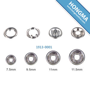 Snap Ring Button (1913-0001) pictures & photos
