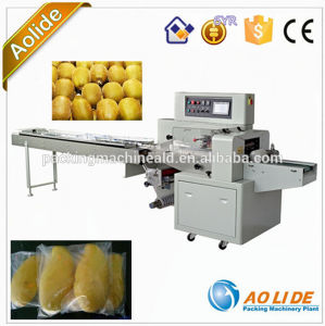 New Design Full Automatic Vegetable Wrapping Machine Price pictures & photos