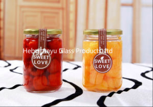 Factory Glass Jar for Jam / Canning/ Food/Pickle Honey Glass Bottle pictures & photos