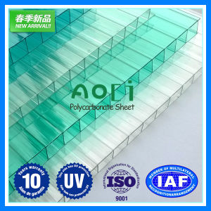 Twin Wall Hollow Polycarbonate Price PC Sheet for Greenhouse Agriculture pictures & photos