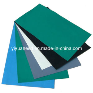 SGS ESD Antistatic Gray Rubber Mat (YY-A1009)