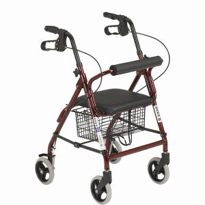 Shopping Foldable Walking Wheelchair