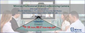 IP Video Conference Camera/PTZ Camera/HD Video Conferencing Camera pictures & photos