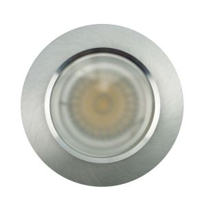 Lathe Aluminum GU10 MR16 Round Fixed Recessed LED Bathroom Downlight (LT2906) pictures & photos