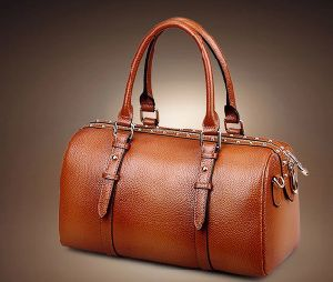 Offering New Cow Leather Women Shoulder Handbags with Long Straps (H8489) pictures & photos