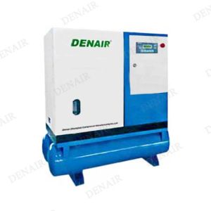 Rotary Screw Air Compressor with Air Tank pictures & photos