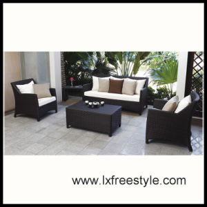 Aluminum &Rattan Sofa Set for Hot Sales 2014 (SF-014)