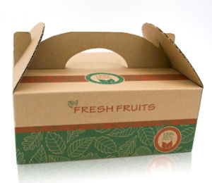 Customized Fresh Fruits Paper Packing Box pictures & photos