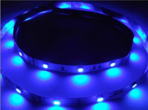 5m LED Strip Light Not-Waterproof 5050 300 SMD Blue Car 12V