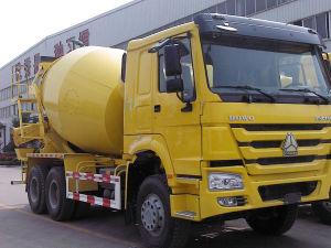 9cbm Sinotruk HOWO 6X4 Mixer 371 HP Concrete Mixer Truck