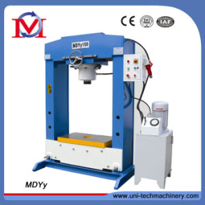 Frame Type Cylinder Moving 150 Tons Hydraulic Press Machine (MDYy150/35) pictures & photos
