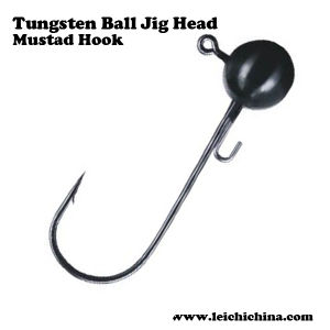 Wholesale Tungsten Ball Jig Head Mustad Hook pictures & photos