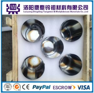 99.95% High Density and Temperature Polished Tungsten Crucible/Crucibles/W Crucibles Price for Rare Earth Smelting Furnace pictures & photos