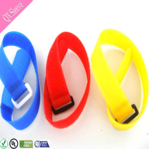 Customized Colored Nylon Hook & Loop Cord Cable Tie pictures & photos