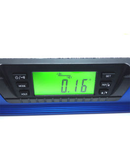 High Precision Digital LCD Backlight Aluminum Laser Spirit Level with Magnetic pictures & photos