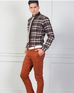 Men′s Casual Check Cotton Shirt pictures & photos