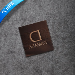 High Density Custom Fabric Garment Woven Label for Men pictures & photos