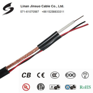 Coaxial Cable Rg59 with Power Cable Rg59 with Power Rg59