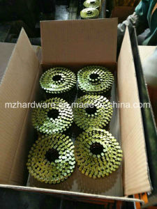 Electro Galvanized Smooth Shank Coil Wire Nail pictures & photos
