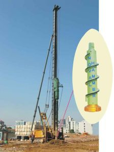 New High Efficiency and Environmental Protection Drilling Rig (NVseries)