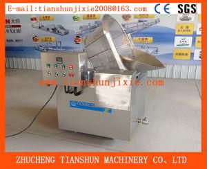 Semi-Automatic Fish Fryer Machine/Beans Frying Machine Tsbd-10 pictures & photos