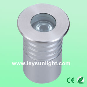 50mm Round 3W High Power LED Outdoor Path Light