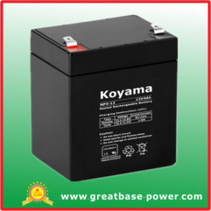 High Quality AGM Lead Acid Rechargeable Battery 4ah 12V pictures & photos