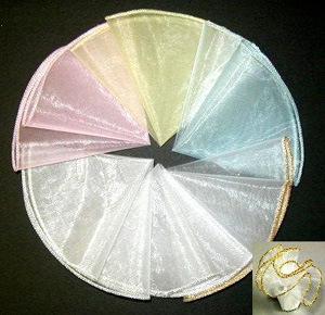 "Round 28"" Diameter Organza Circle for Wedding Decoration pictures & photos"