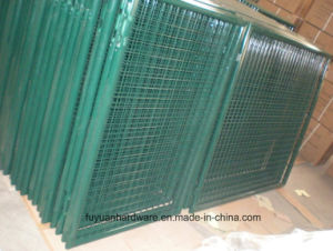 Euro Green Powder Coated Double Garden Fence Gate pictures & photos
