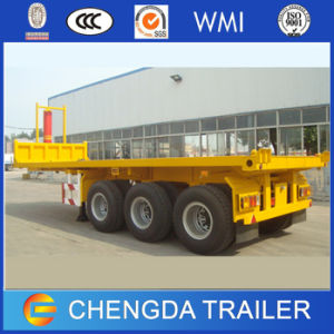 40ftcontainer Tipper Trailer 3axle Tipping Container Semi Trailer for Sale pictures & photos