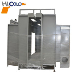 Manual Powder Coating Booth for Aluminium Profile pictures & photos