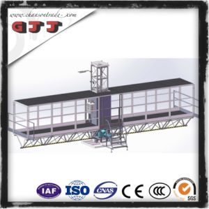 GJJ SCP Type Suspended Safety Work Platform for Building Construction Single Column Single Floor