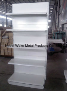 Hebei Woke Single Sided Supmarket Shelving pictures & photos
