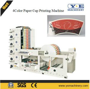 4color Paper Cup Flexographic Printing Machine (RY Series) pictures & photos