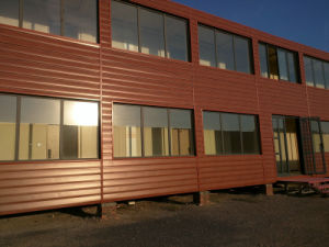Polyurethane Sandwich Panel Prefabricated Building Hotel with Luxury Decoration pictures & photos