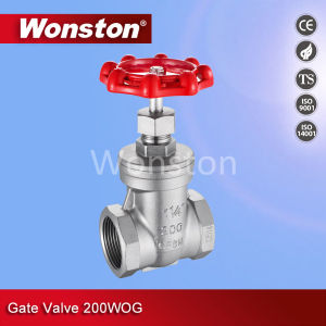Gate Valve 200wog Thread Bsp pictures & photos