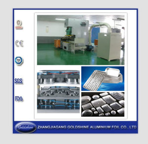 Household Aluminium Foil Container Production Line pictures & photos
