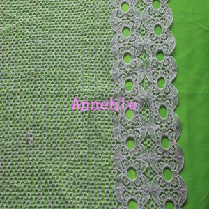 Micro Fiber Lace Fabric for Garment