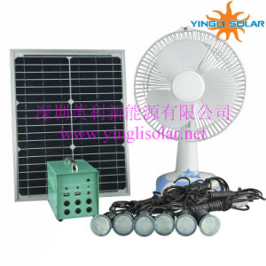 Home Use15W20W25W Solar Power Light Kit and Solar Fan pictures & photos