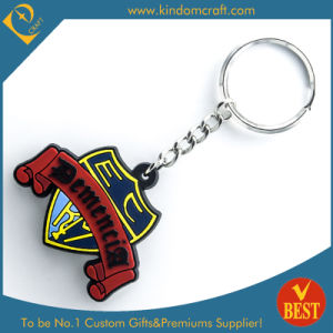 Customized Logo Die Casting 2D Soft PVC Key Chain with High Quality From China pictures & photos