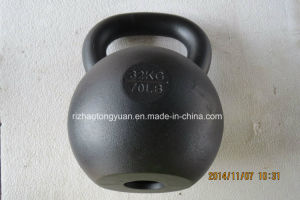 New Product -32kg Kettlebell with Hole pictures & photos