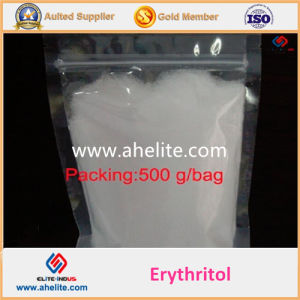 for Hot Sale Food Additives Powder Crystal Sweetener 30-60 Mesh 500g Bag Erythritol pictures & photos