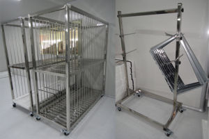 Transport Trolley for Clean Room
