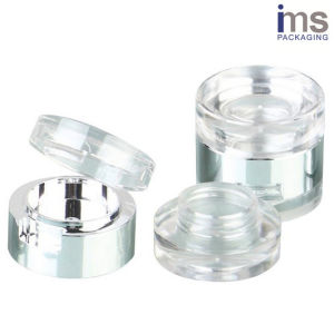 Transparent Plastic Cosmetic Pot for Cosmetic Packaging pictures & photos