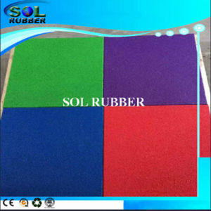 Square Antiskid Outdoor Rubber Mat pictures & photos