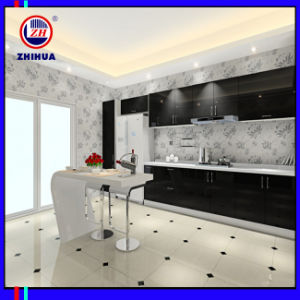 Black and White High Glossy Kitchen Cabinet (Fy098) pictures & photos